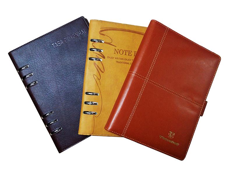 Thiết kế - In ấn sổ da cao cấp Hà Nội