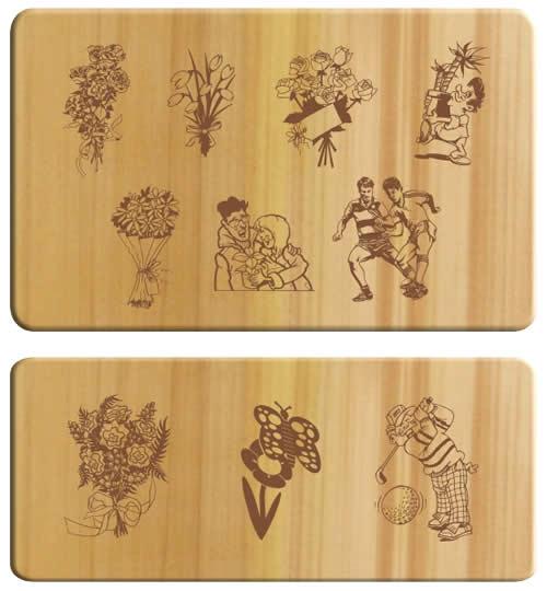 in trên mọi chất liệu - in trên gỗ