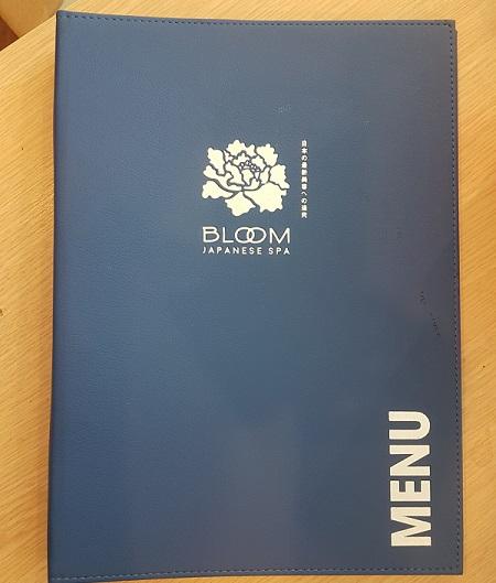 in menu bìa da menu-bloom-spa-2