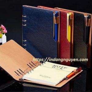 sản xuất sổ da mẫu hở còng và bút