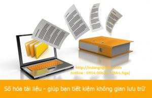 Dịch vụ Số Hóa tài liệu và hình ảnh giá rẻ Hà Nội