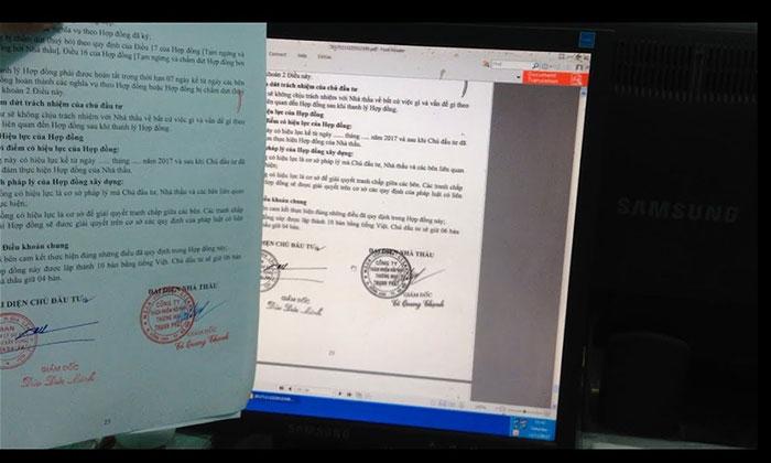 scan tài liệu vào máy tính thành công
