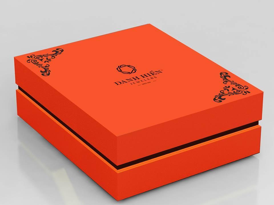 In hộp giấy cao cấp, hộ đựng quà tặng