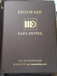 bìa menu da spa hotel