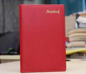 sổ da có sẵn notebook