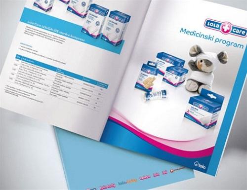 thiết kế và in catalogue giới thiệu bỉm