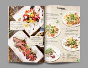 in catalogue nhà hàng caramer