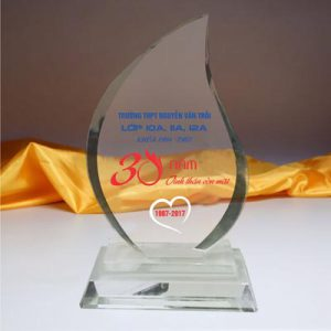kỷ niệm chương pha lê mẫu 2
