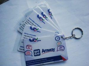 mẫu móc khóa amway