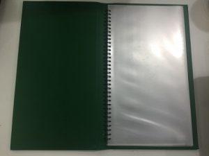 Bán quyển menu bìa da