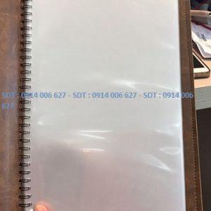Bìa menu da có sẵn - M3