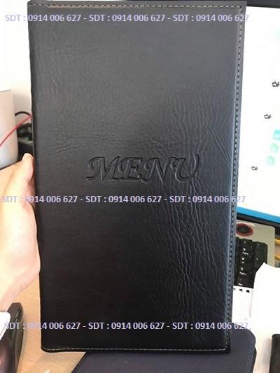 Bìa menu da có sẵn - M4