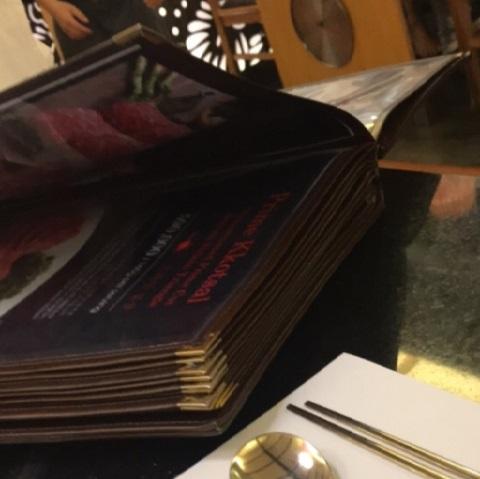 menu nhà hàng gojumong 1