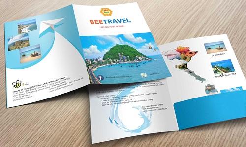 in kẹp file tài liệu công ty du lịch