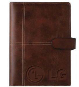 sản xuất sổ tay bìa da LG