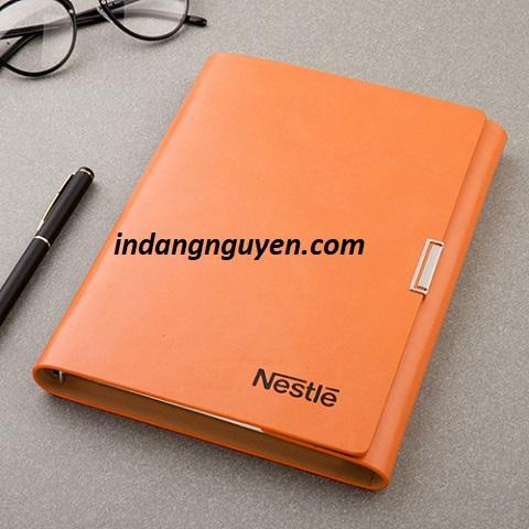 sản xuất sổ tay bìa da- sổ da đăng nguyên