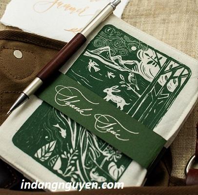 sản xuất sổ tay tại tphcm bìa giấy mỹ thuật