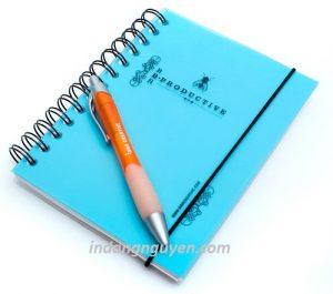in sổ tay và in bút bi