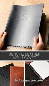 sổ menu nhà hàng