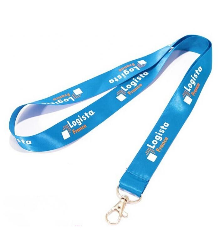 Mẫu in dây đeo thẻ công ty Logista