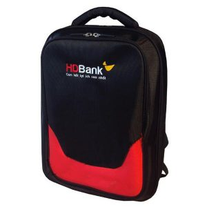 in logo lên balo HDBank