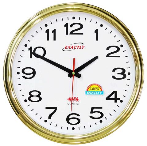 in logo lên đồng hồ treo tường 3