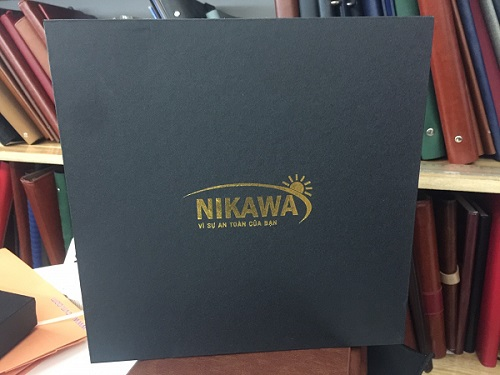 Mẫu kẹp file da nikawa