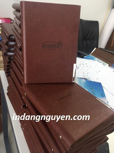 sản xuất sổ da Nikawa