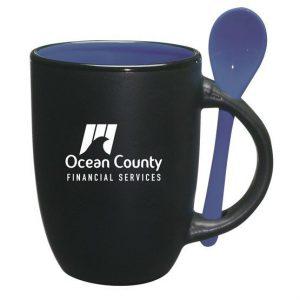 In logo lên cốc sứ cao cấp Ocean Country