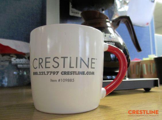 In logo lên cốc sứ cao cấp Cresline