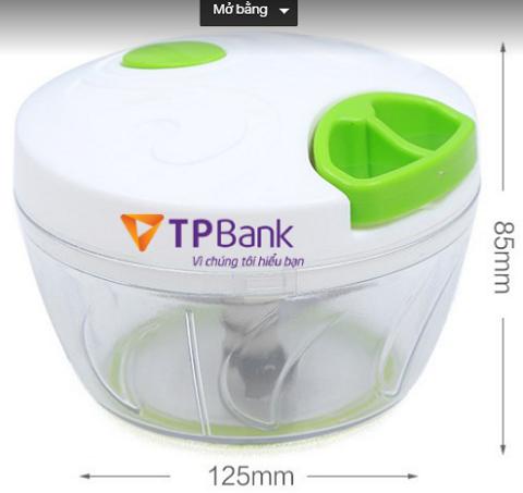 In logo lên hộp nhựa TPBank