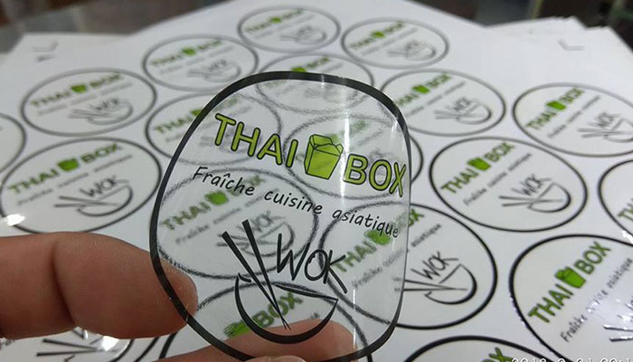 In decal trong Thai Box