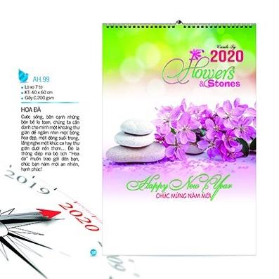 lịch treo tường 2020