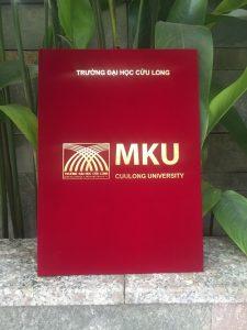 Bìa kẹp bằng tốt nghiệp MKU
