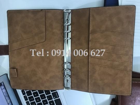 Bìa sổ còng có sẵn, đủ kích thươc A4, A5, A6