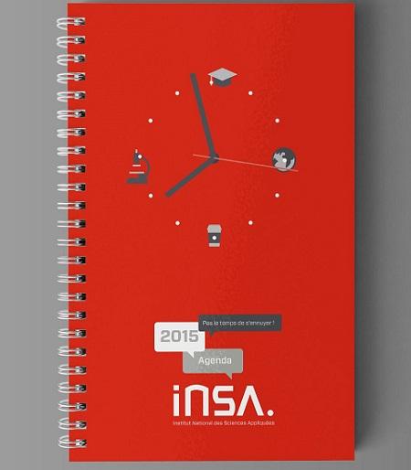 Sổ lò xo a6 Insa - mẫu sổ lò xo 2020 đẹp