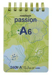 Sổ lò xo a6 passion