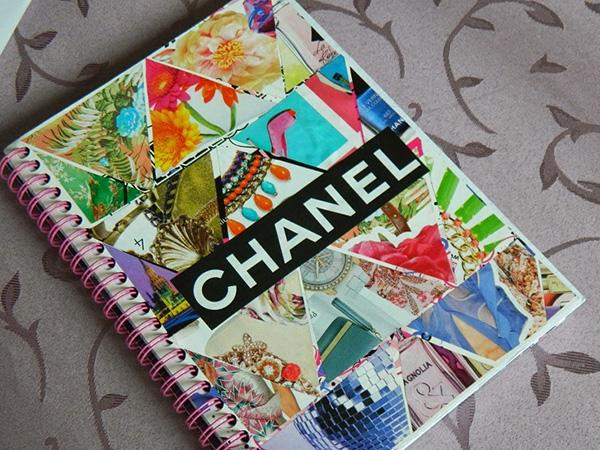 Sổ lò xo A4 Chanel - mẫu sổ lò xo 2020 đẹp