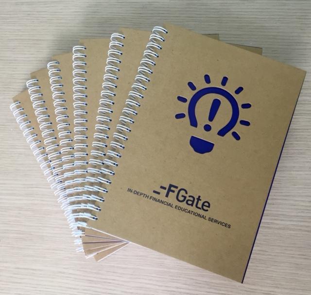 Sổ tay giấy kraft Fgate