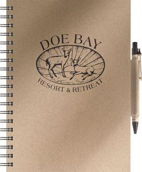 Sổ tay giấy kraft DOE BAY
