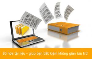 Công ty số hóa tài liệu lưu trữ số lượng lớn