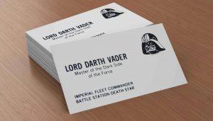 Các thông tin cần in trên card visit