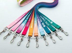 In dây đeo thẻ hà nội nhiều màu sắc