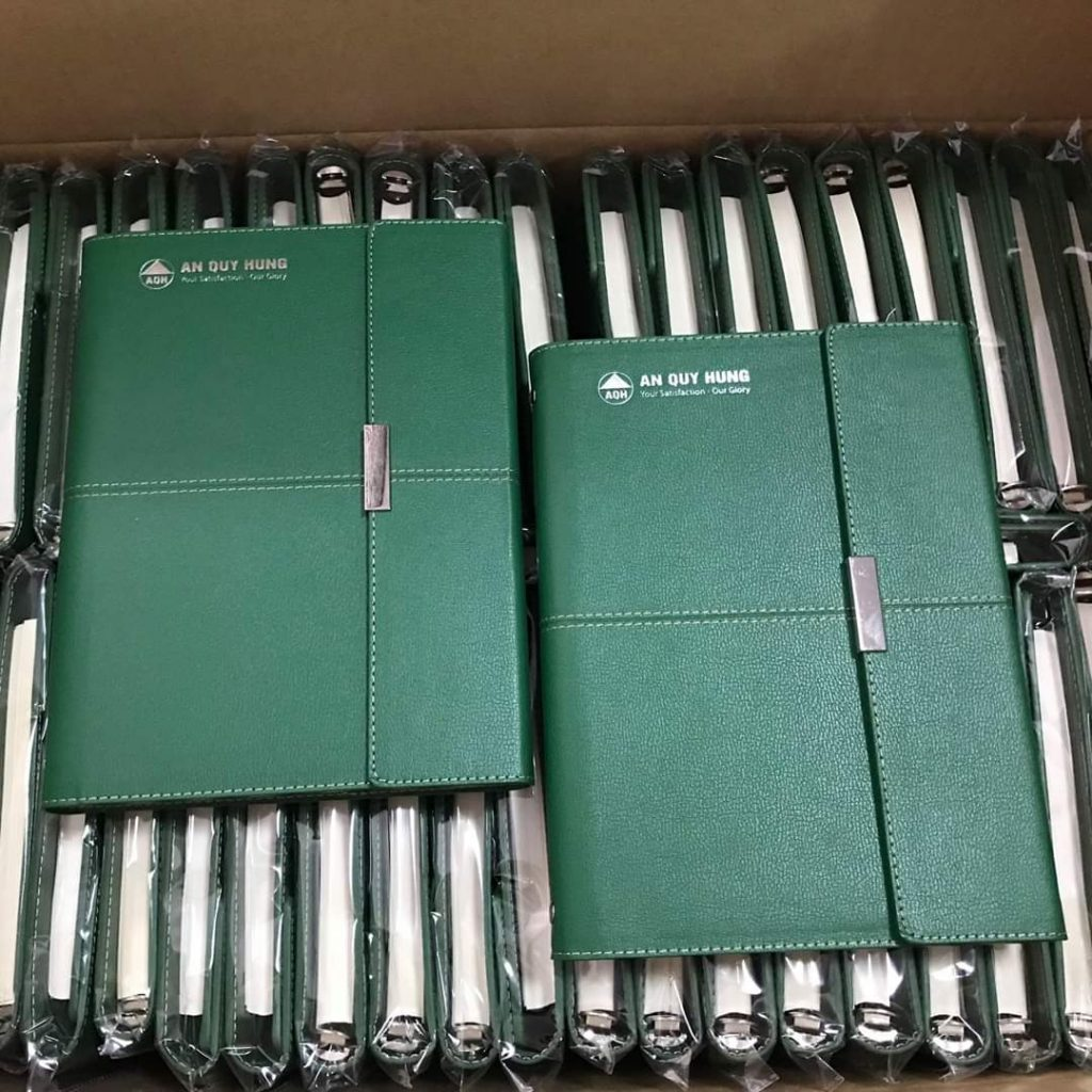 Xưởng may sổ bìa da tại TPHCM - Đăng Nguyên
