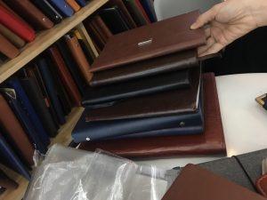 May Sổ bìa da cao cấp làm quà tặng tại TpHCM