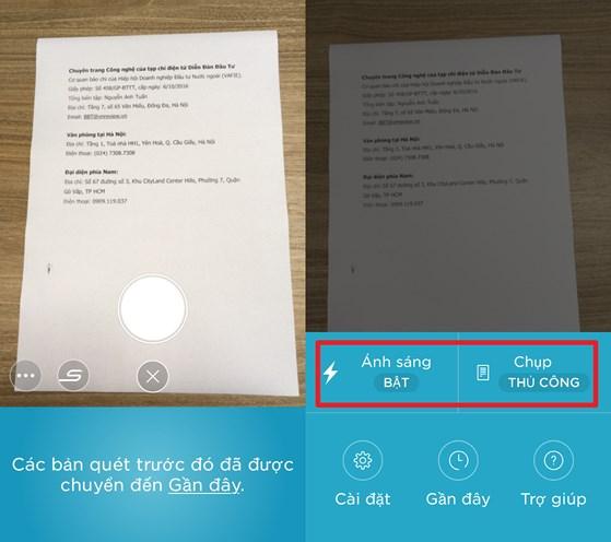 Cách scan tài liệu bằng điên thoại nhờ evernote - hình 1