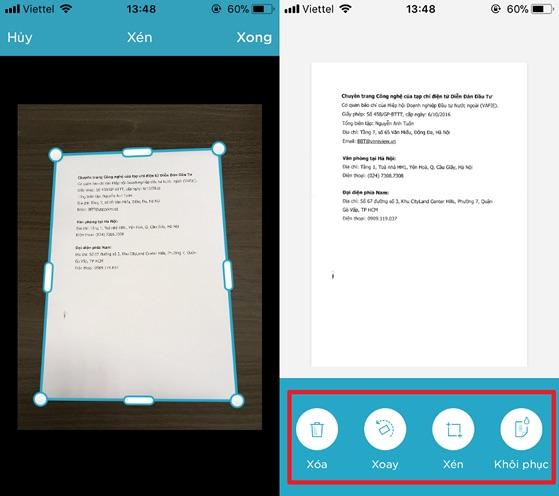 Cách scan tài liệu bằng điên thoại nhờ evernote - hình 2