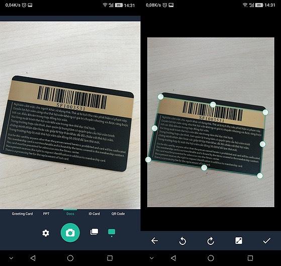 Cách scan tài liệu bằng điên thoại nhờ Cam Scanner - hình 2