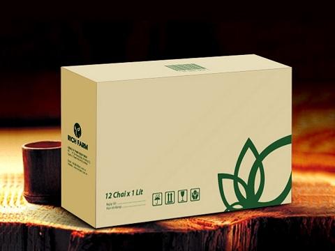 In hộp carton đựng sản phẩm