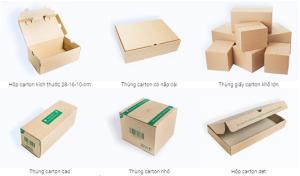 Hộp carton vận chuyển hàng hóa